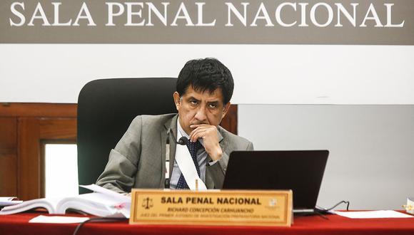 El juez Concepción Carhuancho fue denunciado debido a que, según Rodolfo Orellana, le notificó sobre una citación al día siguiente de que esta se realizó. (Foto. El Comercio)