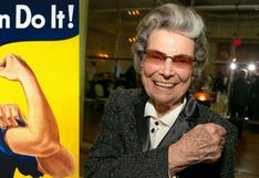 """Rosalind P. Walter, la modelo del icónico poster """"We can do it"""", falleció a los 95 años"""