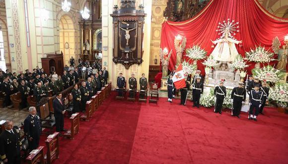 El Te Deum es una ceremonia de suma importancia en 28 de julio. (Foto: Gob)