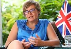 Embajadora del Reino Unido dijo que están abiertos a compartir su experiencia de vacunación con el Perú