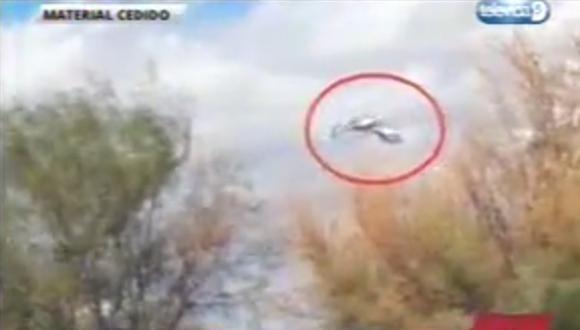 Terrible choque de helicópteros en Argentina [VIDEO]
