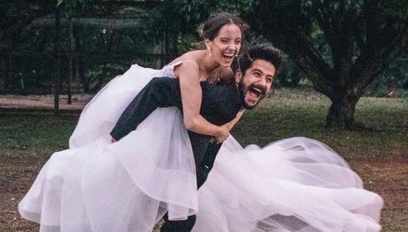 Evaluna Montaner y Camilo Echeverry se casaron en febrero de 2020. (Foto: @evaluna)