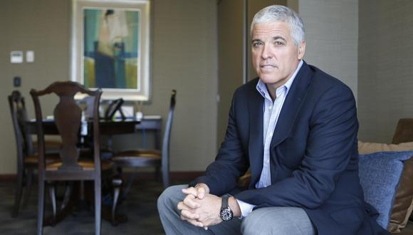 Guillermo Velaochaga sostiene que la digitalización para la venta de viviendas en la empresa ha sido clave para repuntar. (Foto: Manuel Melgar/ GEC)