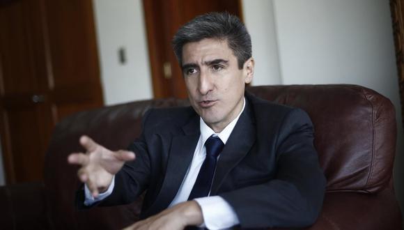 Alejandro Neyra negó haber conocido a 'Richard Swing' cuando fue ministro de Cultura en el 2018. (Foto: USI)