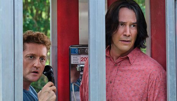 """Así luce Keanu Reeves en las primeras imágenes de su regreso a """"Bill & Ted's"""". (Foto: Orion Pictures)"""