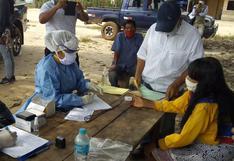 Toman pruebas rápidas y monitorean casos sospechosos de COVID-19 en 11 comunidades indígenas de Ucayali