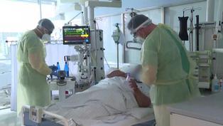 Enfermos de COVID-19 cada vez más jóvenes en un hospital alemán