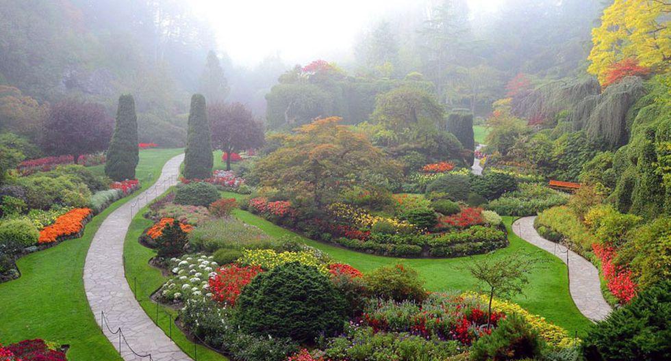 Estos hermosos jardines parecen de un cuento de hadas - 5