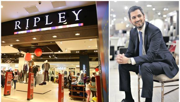 """""""Cambiaremos el formato y la marca de la tienda de Megaplaza norte [hoy Ripley Max]. Ya estamos trabajando en su transformación y la inauguraremos en agosto"""", dice el CEO de Ripley Perú, Eduardo Daly."""