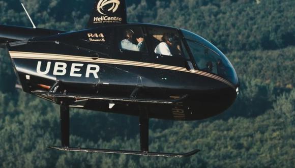 Los helicópteros, con dos pilotos de tripulación, pueden dar servicio hasta a cinco personas. (Foto: Captura)