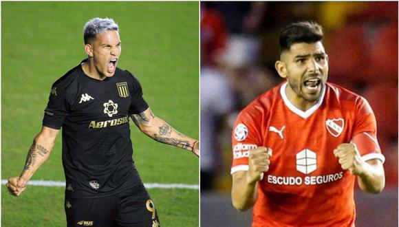 Racing vs. Independiente se miden en la jornada nueve de la Copa de la Liga Profesional de Argentina. (Foto: Twitter)