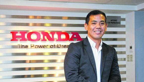 Honda estimada colocar en el mercado unas 50.000 unidades, 3.000 menos de lo vendido en el pasado ejercicio, de las cuales el 70% corresponderá a motos lineales y el 30% a motocars o mototaxis, revela Jorge Oshiro Kiyabu.