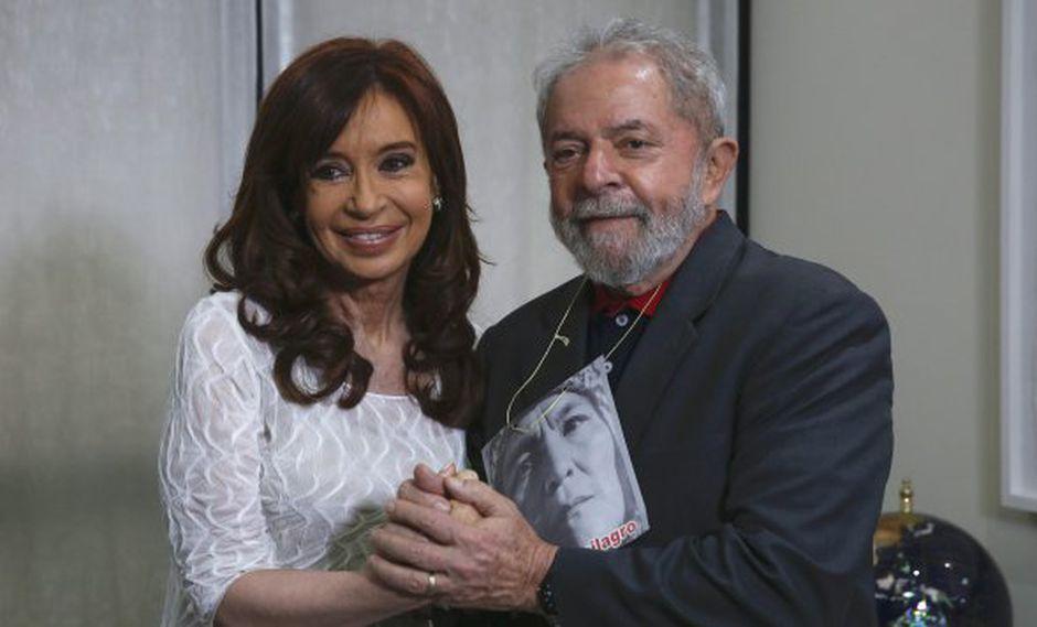 """""""En Brasil los medios de comunicación, en coordinación con el Poder Judicial, también han arrasado con el Estado de Derecho. #FuerzaLula"""", publicó Fernández en Twitter."""