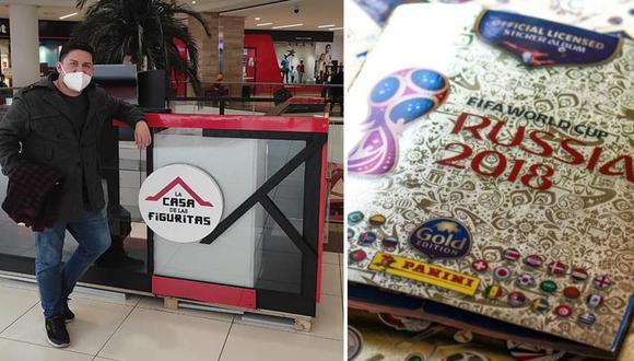 Jack Hurtado y su nuevo proyecto: el promotor del Museo de Coleccionables de Fútbol ahora inaugura La Casa de las Figuritas, en el Mall Aventura de Santa Anita.