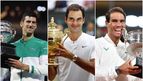 Cómo va la carrera por tener más títulos de Grand Slam | Fotos: Agencias