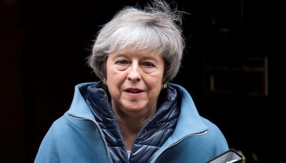 Theresa May pide a sus diputados unidad en la recta final del Brexit. (EFE)