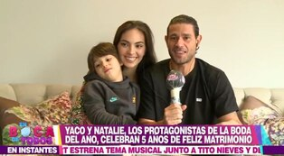 Natalie Vértiz y Yaco Eskenazi planean encargar un segundo bebé