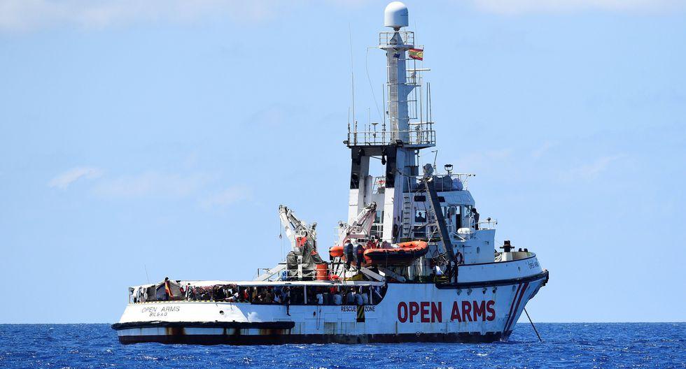 El Open Arms se declara en situación de necesidad y no garantiza seguridad. (Reuters).