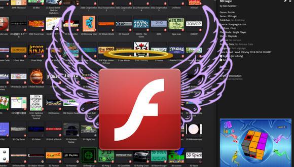 Flashpoint es una plataforma que busca preservar los juegos en Flash, tecnología de Adobe que pasará a mejor vida el 31 de diciembre del 2020. (Foto: bluemaxima.org/flashpoint)