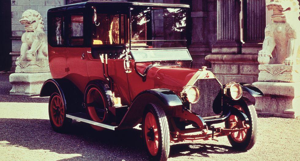 El Model-A fue el primer coche que fabricó Mistubishi, en 1917.