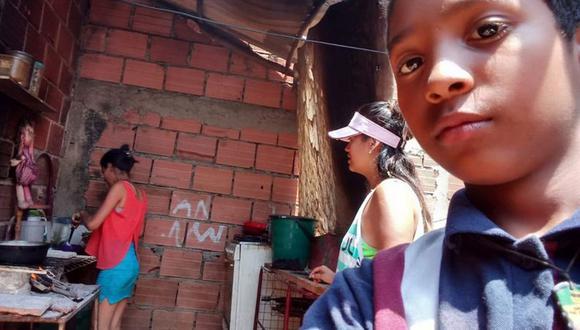Juan David, un niño migrante venezolano. (JUAN DAVID/WORLD VISION).