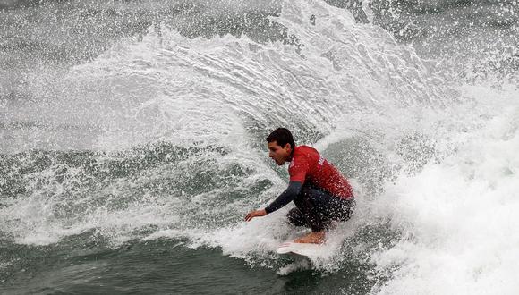 Lucca Mesinas y su increíble rutina ganadora en surf por la que recibió la medalla de oro en Lima 2019. (Foto: Alessandro Currarino)