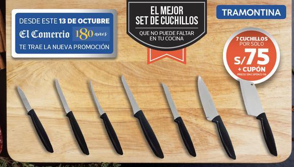 Una promoción ideal para tu cocina y con el respaldo de la marca Tramontina.