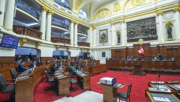 El nuevo Congreso de la República elige este lunes a su Mesa Directiva para el período de funciones 2021-2022 | Foto: Congreso / Referencial