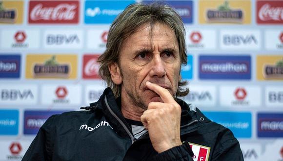 Ricardo Gareca llevó a Perú a una Copa del Mundo tras 36 años. (Foto: AFP)