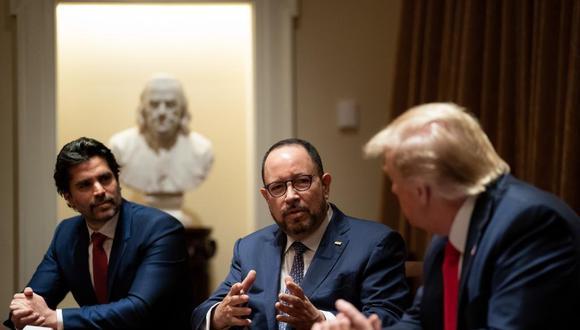 Eduardo Verástegui podría trabajar junto a Donald Trump en la Casa Blanca (Foto: Eduardo Verástegui / Twitter)