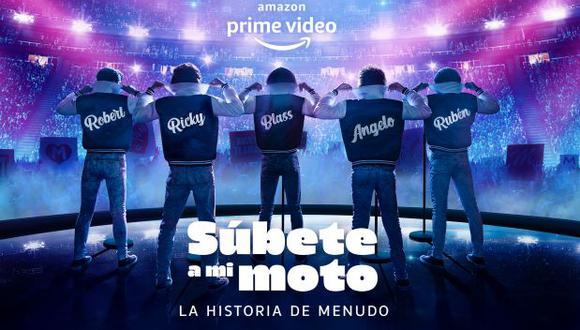 """""""Súbete a mi moto"""" está inspirada en la historia de éxito de la agrupación puertorriqueña Menudo. (Foto: Amazon Prime Video)"""