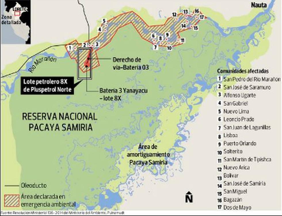 Emergencia en el río Marañón incluye parte de Pacaya Samiria - 2