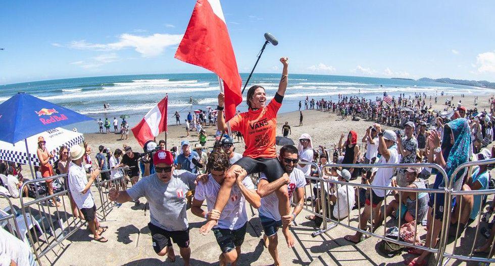 Sofía Mulanovich se coronó campeona del Mundial Isa de Surf por segunda vez. En el 2004 también lo había logrado. (Foto: ISA)