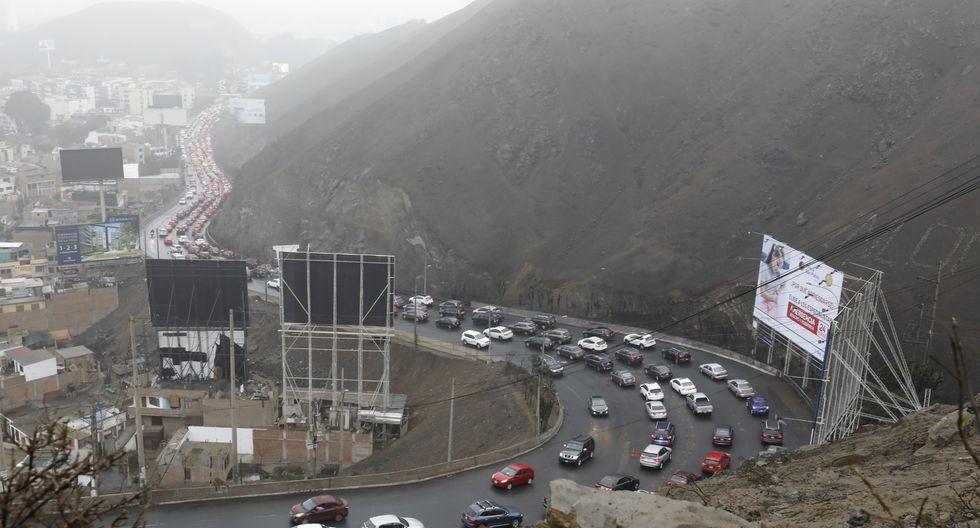 Obra propuesta por La Molina podría ser culminada en el 2022. Zona es de gran congestión entre La Molina y Surco. (Foto: Piko Tamashiro)