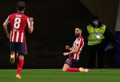 Yannick Carrasco marcó el gol del triunfo del Atlético de Madrid por 1-0 sobre Barcelona | VIDEO