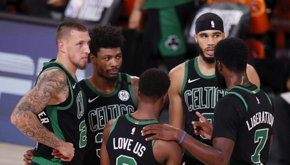 Celtics buscarán ganar el tercer partido frente a Miami Heat por las finales de la Conferencia Este   Foto: EFE