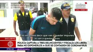 Fiscalía libera a delincuentes para no exponerlos al contagio de Covid-19