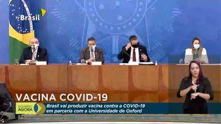 Brasil cierra acuerdo para producir vacuna contra COVID-19 de Oxford