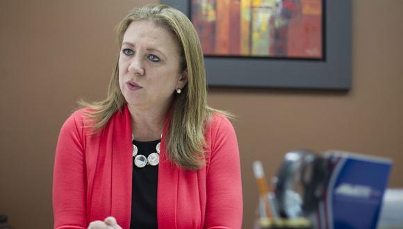 María Isabel León, titular de la Confiep. (Foto: GEC)