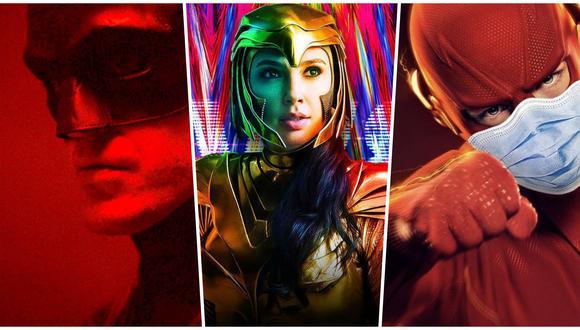 """DC Fandome 2020. """"The Batman"""", """"Wonder Woman 84"""" y """"The Flash"""" estarán entre las historias a presentarse en el evento dedicado a los fans de DC Comics. Foto: Difusión."""