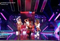 "Reinas del show 2: Pitufina, Tormenta, Vilma Picapiedra y Minnie Mouse se mueven al ritmo de ""In Da Getto"""
