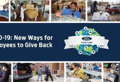 Ford presenta un programa de donación para luchar contra el COVID-19