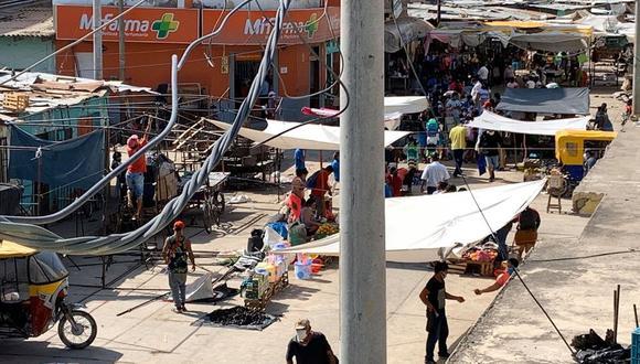 Comerciantes en Piura desobedecieron las disposiciones municipales ante el COVID-19. (GEC)