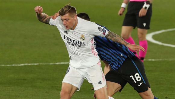 Toni Kroos quedó listo para afrontar el duelo entre Real Madrid y Eibar por LaLiga. (Foto: EFE)