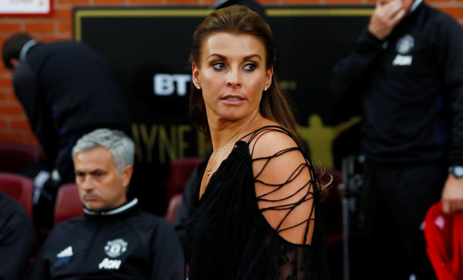 Coleen Rooney, esposa del exgoleador de la selección inglesa. (Foto: Reuters)n