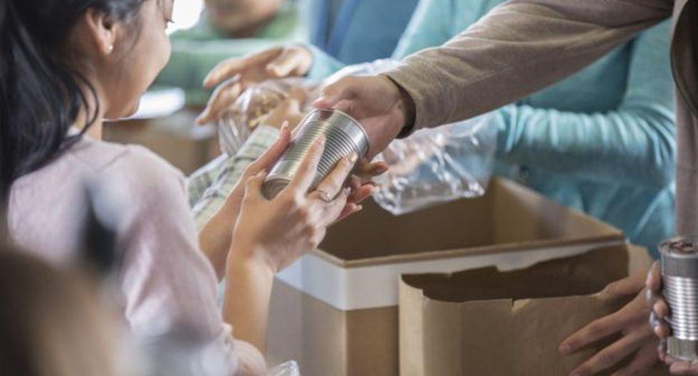 Los productos aptos para la donación pueden haber perdido su valor comercial por un mal etiquetado, por ejemplo. Lo importante es que se encuentren en buen estado. (Foto: Getty)