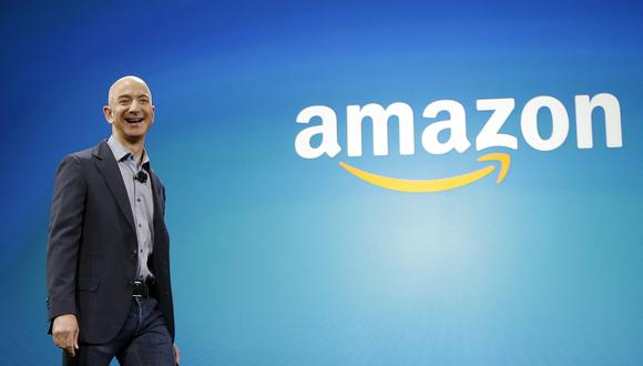 La acción de Amazon se replegó levemente tras su récord solo cinco minutos después. (Foto: AP)