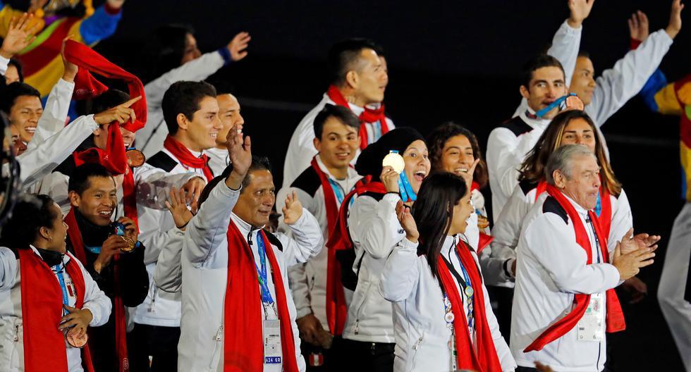 Alexandra Grande en el desfile de clausura de Lima 2019. Ganó oro en esa competencia. (Foto: Lima 2019)