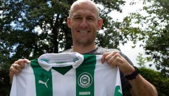 Arjen Robben anunció su retiro del fútbol en julio del 2019 tras varias temporadas en Bayern Múnich. (Foto: FC Groningen)