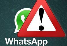 WhatsApp: Si contestas este mensaje podrías ser víctima de una estafa ¡Cuidado!